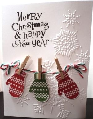 Christmas Card - All essential products for this project can be found on…                                                                                                                                                                                 More