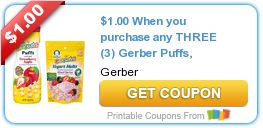 Tri Cities On A Dime: SAVE $2.00 WITH 2 COUPONS ON GERBER PRODUCTS - PUF...