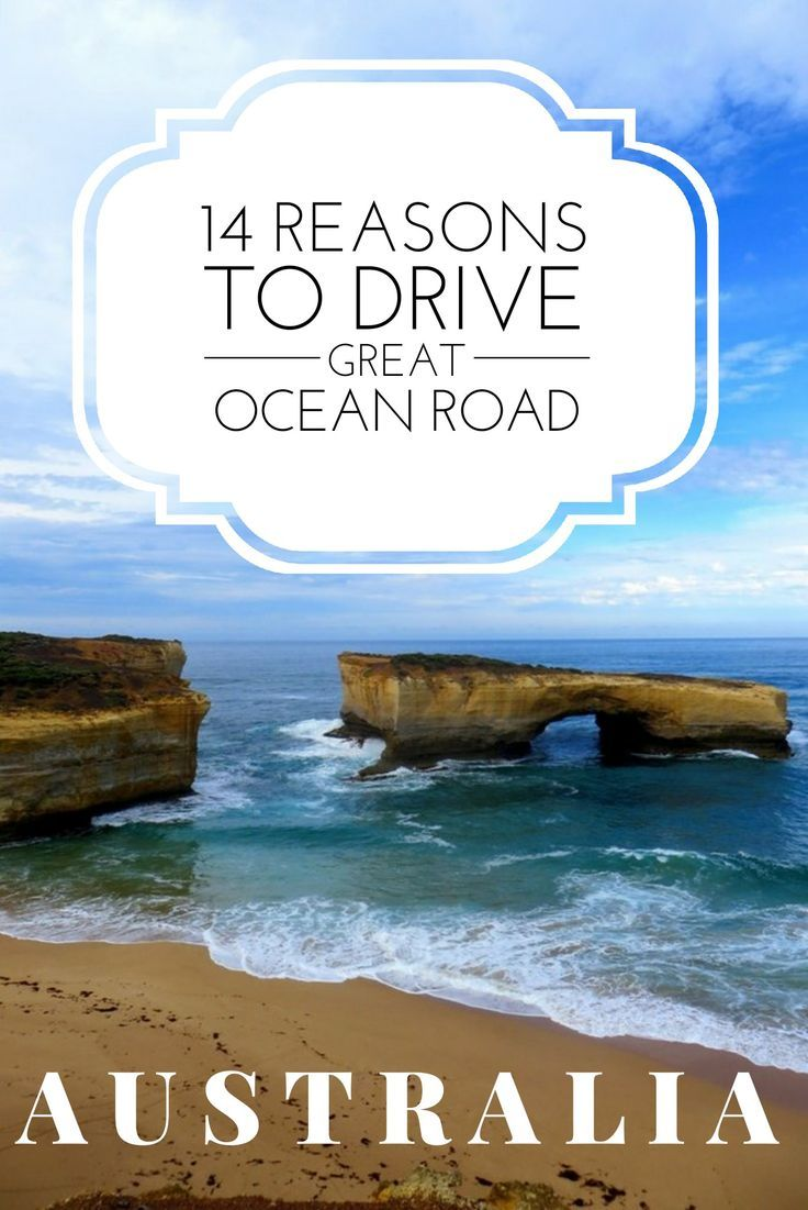 14 reasons Australia travel should included this road trip. Great Ocean Road trip including the 12 Apostles.
