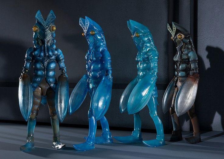 宇宙忍者的最強必殺技!巴爾坦星人 分身組合 バルタン星人 分身体セット   玩具人Toy People News