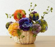Flower Bouquet made with the Flower Frill Template Maker     #flowerfrill #flower #product #cloverusa