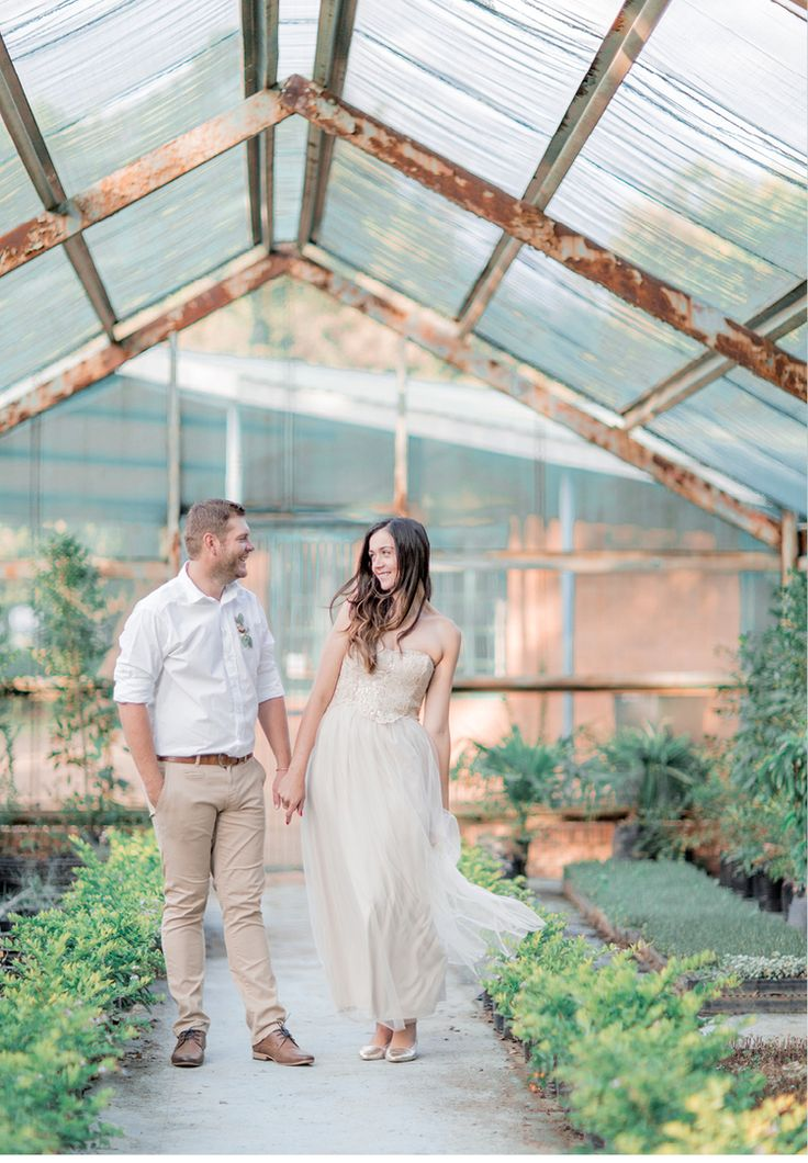 the perfect engagement shoot outfit ideas   wedding inspiration   Greenhouse venue   rose gold tulle   Clareece Smit photography