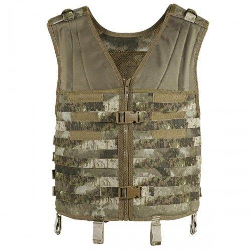 Voodoo Tactical 20-7210 Assault Vest MOLLE Webbing FLC, A-TACS