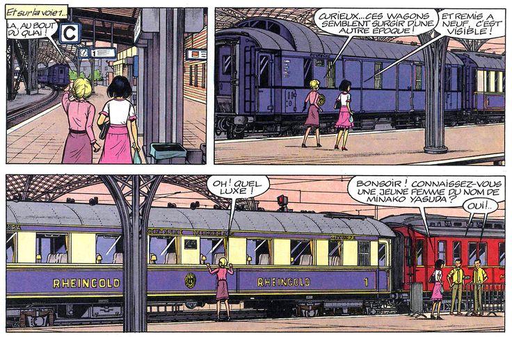 Scene from Yoko Tsuno - The Rheingold-Express