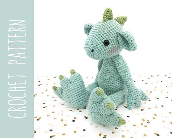 Amigurumi Dragon Wings : 213 best dragons crochet images on pinterest amigurumi patterns