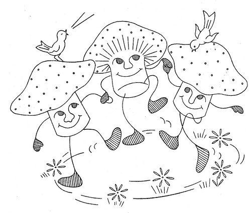 dancing mushrooms | Flickr - Photo Sharing!