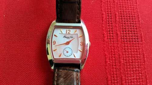 Reloj Kenneth Cole New York Kc2386 Analogico Malla Cuero