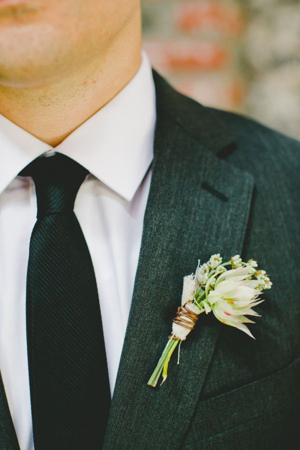 Rustic boutonniere: http://www.stylemepretty.com/vault/search/images/Flowers