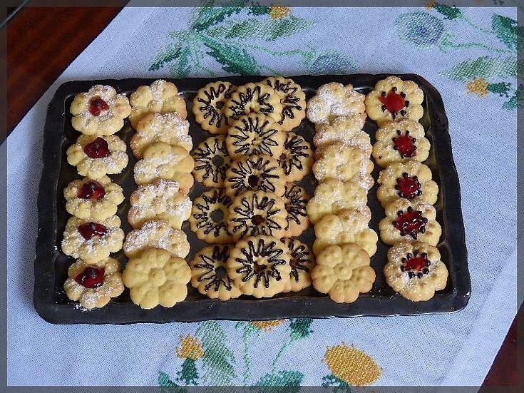 Čajové sušenky do lisu | Blog Ivany a Zdeňka