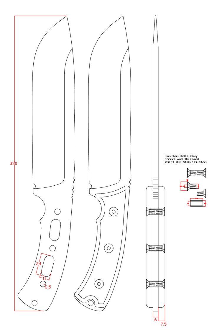 knife drawings
