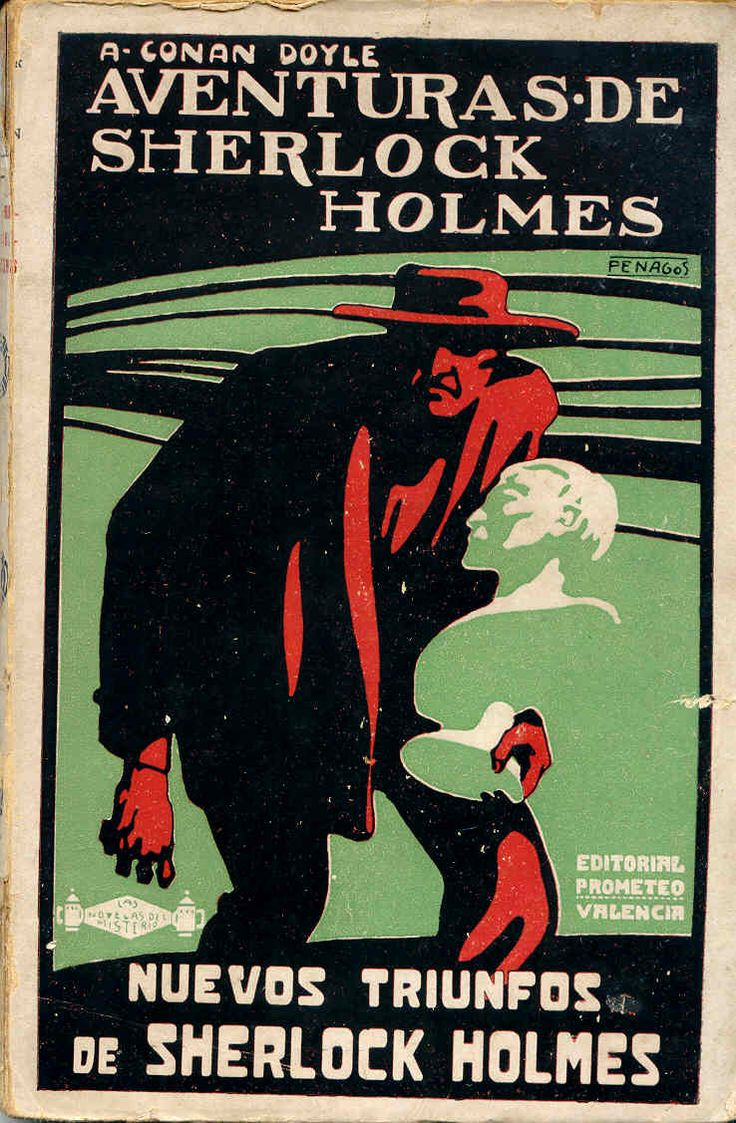 Spanish Edition of The Return of Sherlock Holmes (1920)