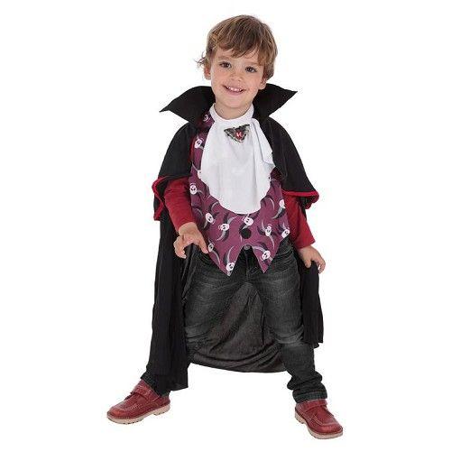 Disfraz Vampiro Calaveras Infantil