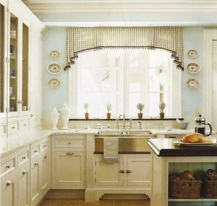 Kitchen Cabinet Hardware Ideas With Decorative Curtain