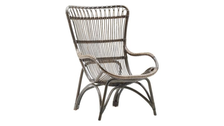 Specifications    Width: 67 cm   Depth: 81 cm   Height: 98 cm   Seat Height: 40 cm  Variations  1082U Natural  1082T Taupe  1082A Antique  1082S Black