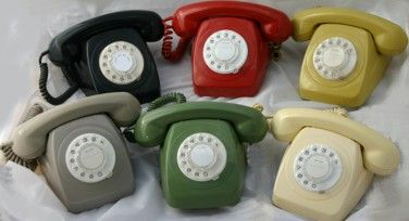 PMG / Telecom Rotary Dial phones made in the 1960s and 1970s