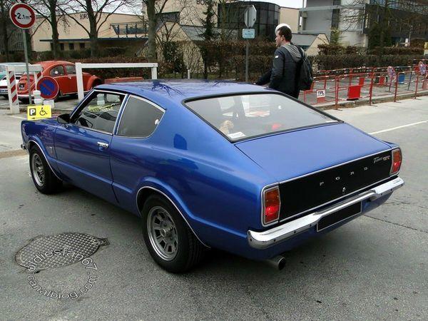 Ford Taunus Gt Coupe 1970 1976 4 Ford Taunus Gt Ford Coupe