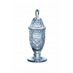 "Galway Crystal - Master Collection 13"" Footed Sport Trophy and Lid. €199.00."