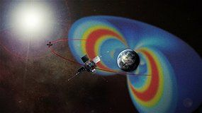 A weird zebra-stripe pattern discovered in Earth's inner Van Allen radiation belt is generated by the planet's rotation, according to new research.  The study, reported in the journal Nature, changes science's understanding of Earth's radiation belts, and may provide new insights into the complicated dynamics of similar belts around other planets.