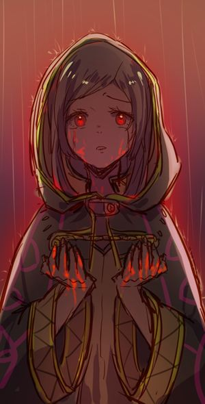 creepy female robin after something awful she did to chrom whoops spoiler i'm sorry