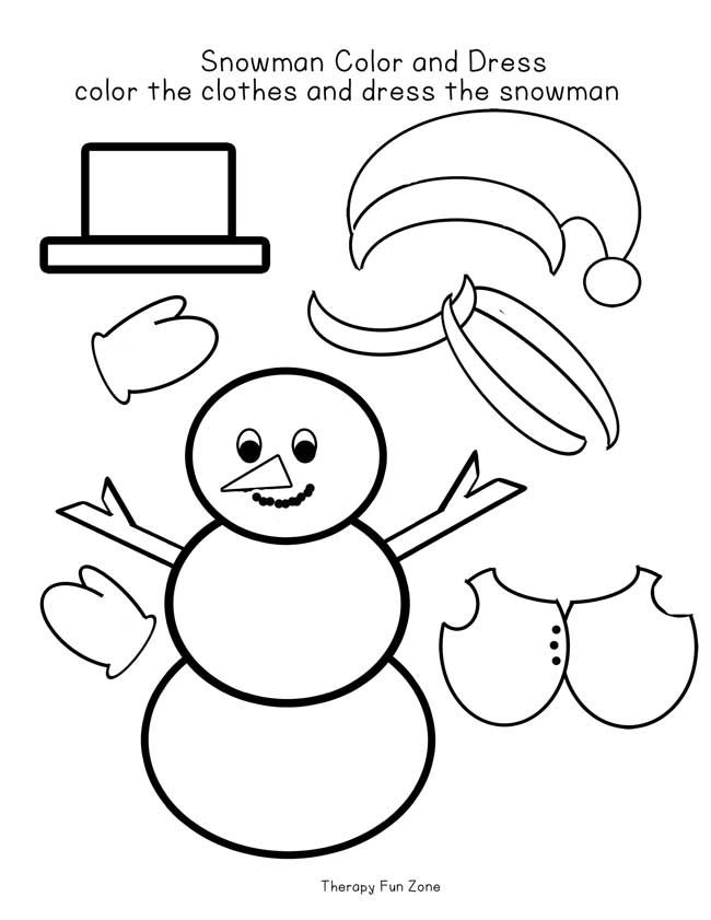 snow-man-with-clothes-template-white