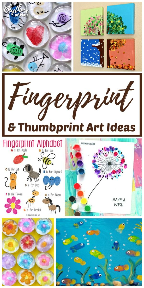 The Best Fingerprint And Thumbprint Art Ideas For Kids Kids