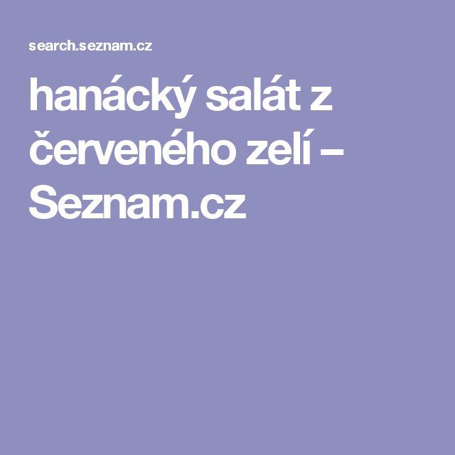 hanácký salát z červeného zelí – Seznam.cz