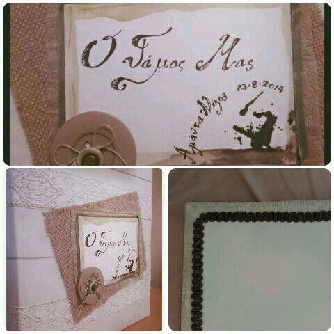 Rustic wedding album