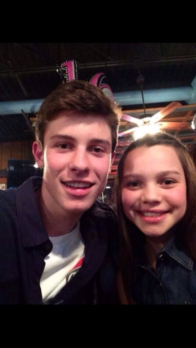 Shawn Mendes and his sister | magcon boys | Pinterest ...