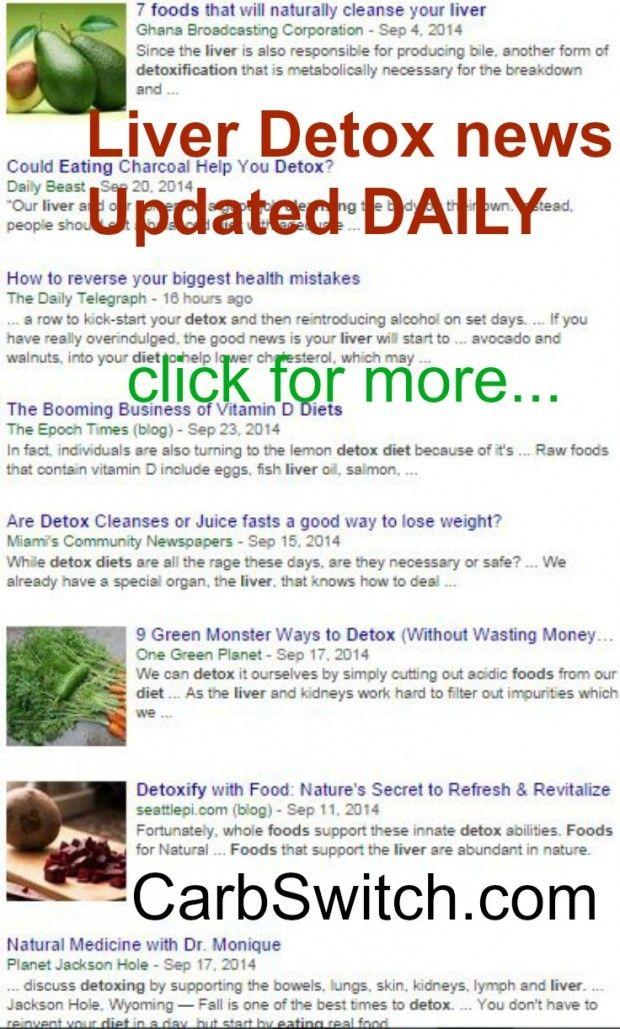 Liver detox diet drink smoothie home remedy foods