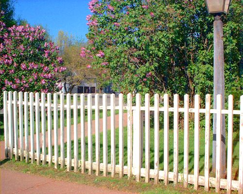 Fence Pictures: Fence Pictures: Baluster Style Fencing