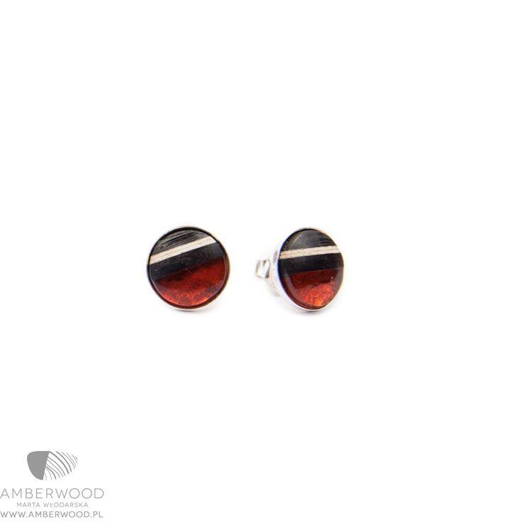 Earrings Amberwood ROUND 3