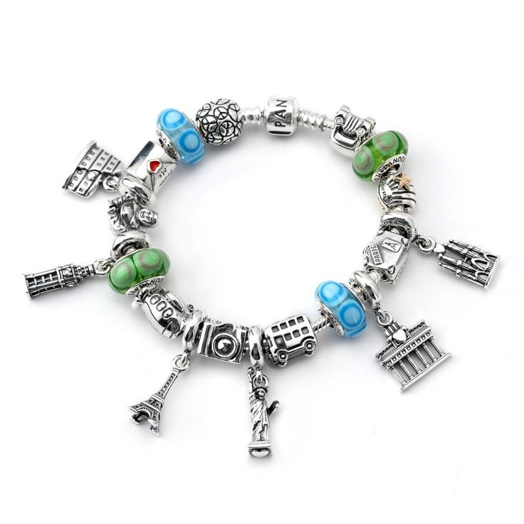 Like traveling and jewelry? Then what a better way to remember it by designing your ultimate bracelet with adorable travel charms at Pandora!