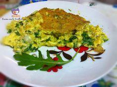 Uova strapazzate alla rucola e formaggio