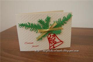 Felicitare de Crăciun MH039 / Christmas Greeting Card MH039