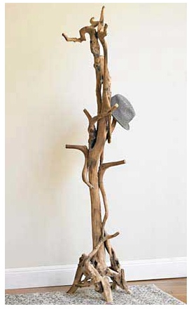 Viva terra tree rack. No two are alike. - I need this for all my hats!