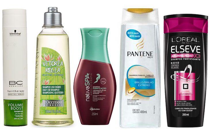 Shampoos que já usei e deram certo no cabelo oleoso