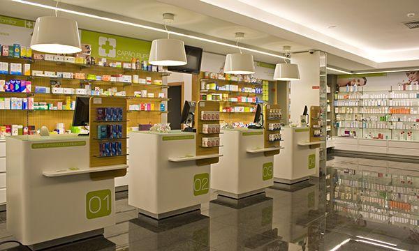 Pharmacy interior on Behance