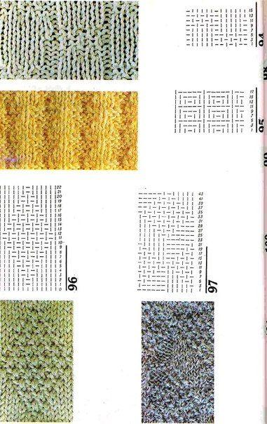 вязание на спицах 800 узоров