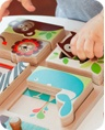 Skip Hop : Alphabet Zoo Match & Play Puzzle, available at babyworks!