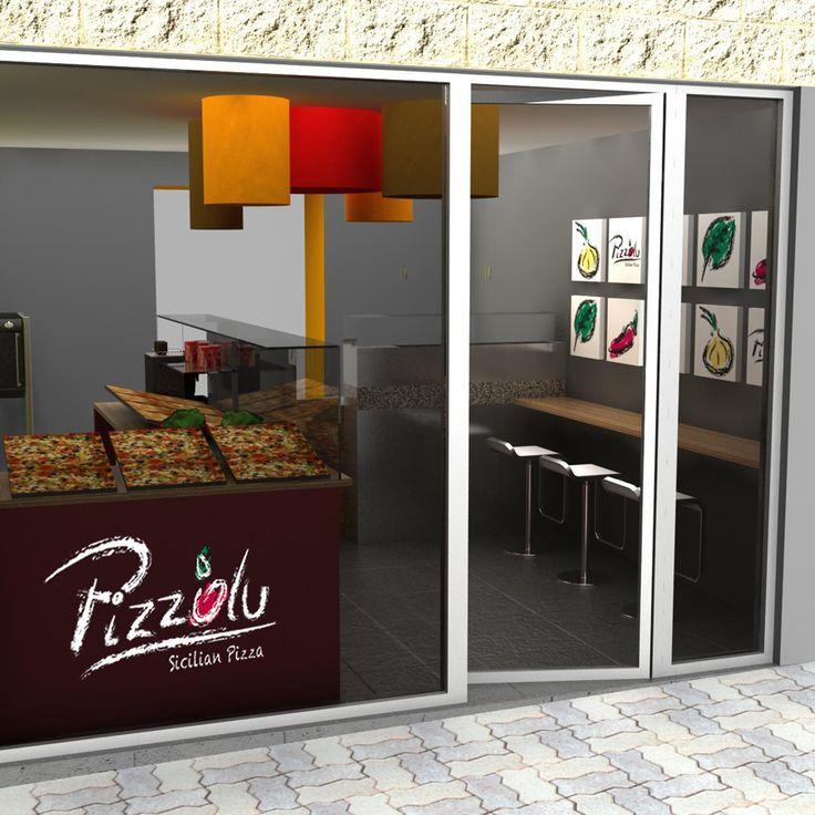 Adaptaci n interiorismo pizzer a al corte 62 m2 - Decoracion interiores barcelona ...