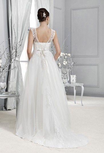 14024 - Crystal Collection - Kolekcja sukni ślubnych Agnes - koronkowe suknie ślubne