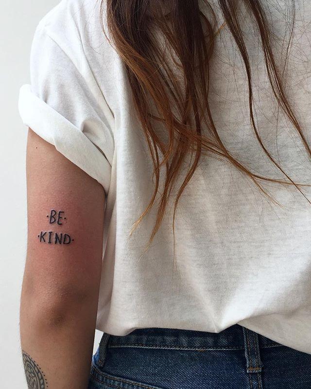 be kind #tattoo