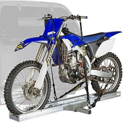 Bicycle Car Racks - AMC400 Lightweight Aluminum Motocross  Dirt Bike Carrier for 2 Hitch Receivers >>> You can find out more details at the link of the image.