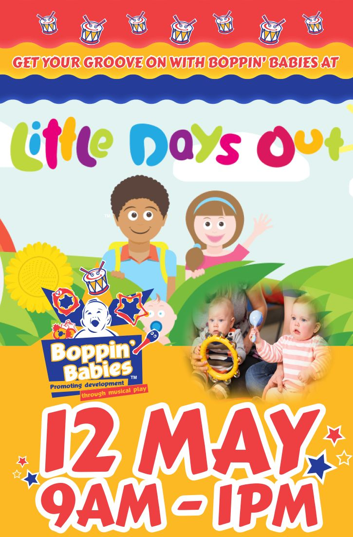Join Miss Chare and Miss Tara at Southbank tomorrow Boppers for free #BoppinBabies music groups at Little Days Out, 9am to 1pm at the Epicurious Garden, Southbank. Bring a friend!