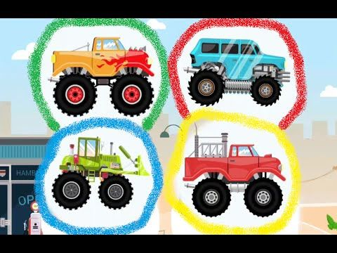 monster truck kids car
