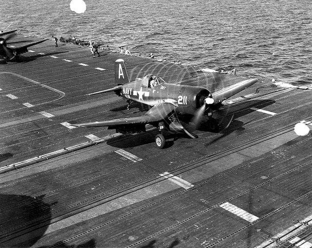 World War II: F4U Corsair