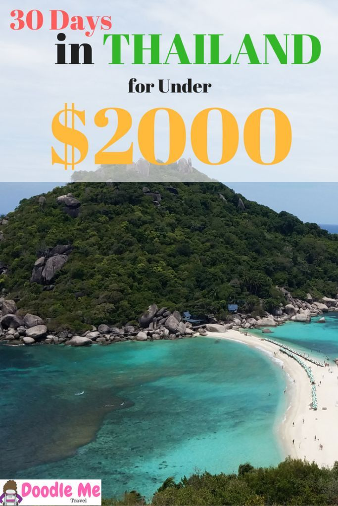 30 Days in Thailand for Under $2000 - Doodle Me Travel