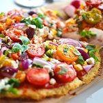 Simpele bloemkool pizza