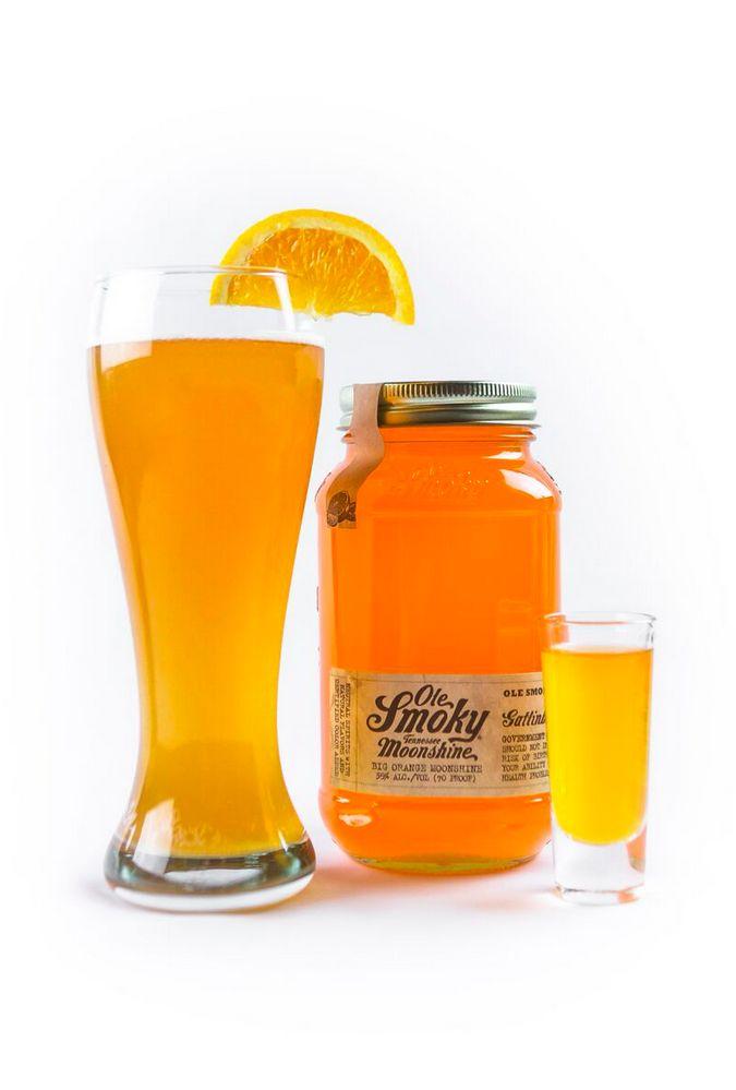 <b>It's National Moonshine Day.</b> Cheers!