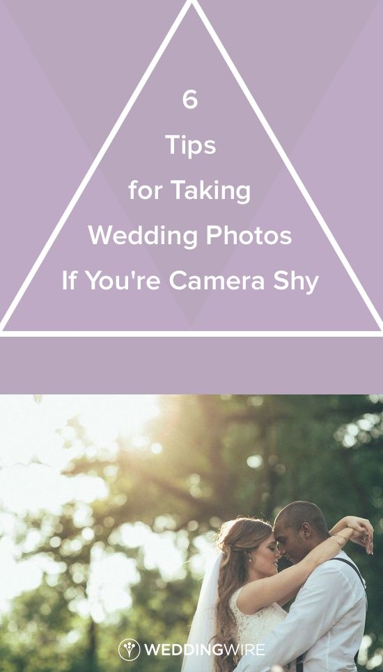 6 Tips for Taking Wedding Photos If You're Camera Shy - Learn what tips photographers have for ...
